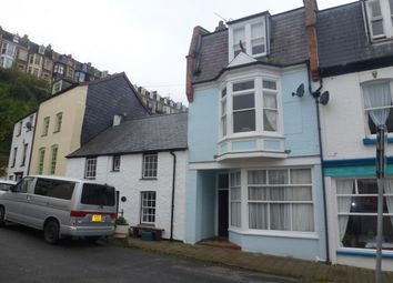 Thumbnail 3 bed terraced house for sale in Quayfield Road, Ilfracombe, Devon