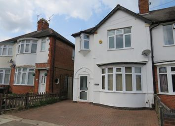 Thumbnail 3 bed town house for sale in Cranfield Road, Aylestone, Leicester