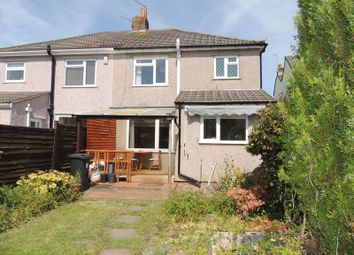 Thumbnail 3 bed semi-detached house for sale in Cadbury Heath Road, Warmley, Bristol