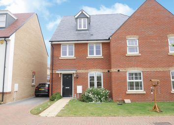 Thumbnail 3 bed semi-detached house for sale in Chamberlain Park, Biggleswade