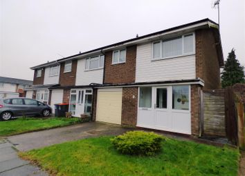 Thumbnail 3 bedroom end terrace house for sale in Leighton Court, Dunstable
