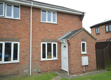 Thumbnail 2 bed semi-detached house for sale in Bateman Close, Harpsfield, Norwich