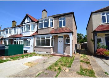 Thumbnail 3 bed end terrace house for sale in Fairway, Raynes Park