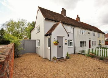 Thumbnail 3 bed cottage for sale in Rose Cottages, The Street, Great Tey, Colchester, Essex