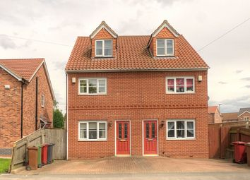 Thumbnail 3 bed semi-detached house to rent in Grammar School Road, Brigg