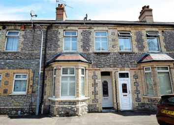 Thumbnail 2 bed terraced house for sale in Courtenay Road, Barry