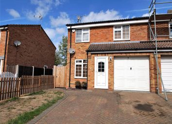 Thumbnail 3 bed semi-detached house for sale in Appletree Way, Owlsmoor, Sandhurst, Berkshire