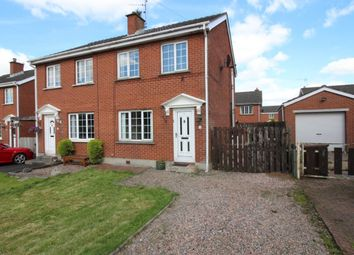 Thumbnail 2 bed semi-detached house for sale in Muskett Gardens, Carryduff, Belfast