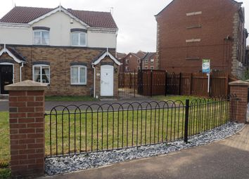 Thumbnail 2 bedroom semi-detached house to rent in Maldon Drive, Victoria Dock, Hull