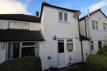 Thumbnail 2 bed terraced house to rent in Upton Scudamore, Warminster, Wiltshire