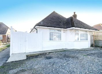 Thumbnail 3 bed detached bungalow for sale in Cecil Road, Lancing, West Sussex