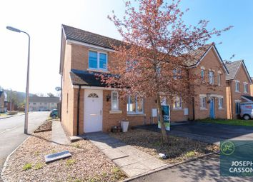 Thumbnail 3 bed end terrace house for sale in Maes Ifor, Taffs Well, Cardiff