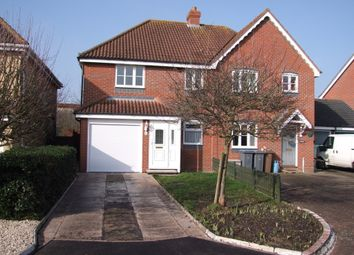 Thumbnail 3 bed semi-detached house for sale in Cooper Close, Saxmundham