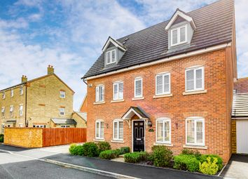 Thumbnail 5 bed detached house for sale in Cotswold Close, Corby