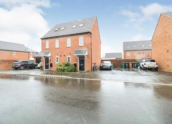 Thumbnail 3 bed semi-detached house for sale in Netley Road, Boulton Moor, Derby, Derbyshire