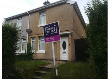 3 bed semi-detached house for sale in Delhi Street, Swansea SA1