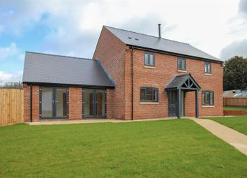 Thumbnail 4 bedroom detached house for sale in Lea, Ross-On-Wye