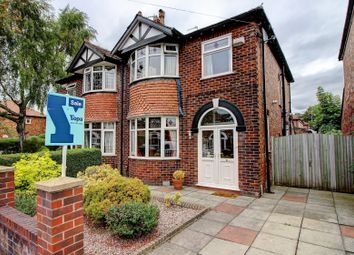 Thumbnail 3 bed semi-detached house for sale in Kenilworth Road, Stockport