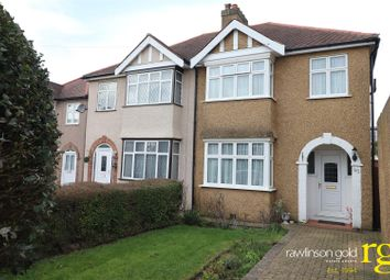 Thumbnail 3 bed semi-detached house for sale in Park Crescent, Harrow Weald, Harrow