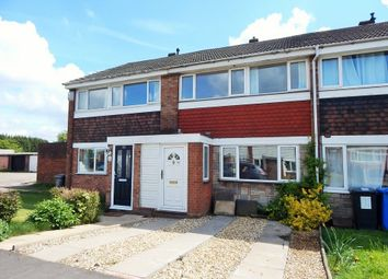 Thumbnail 3 bed terraced house to rent in Russett Close, Burntwood