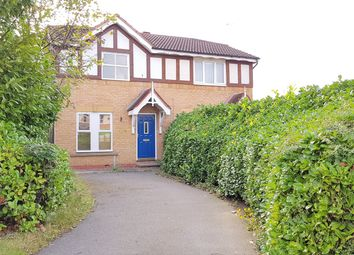 Thumbnail 3 bed semi-detached house to rent in Coleford Road, Barkby Thorpe, Leicester