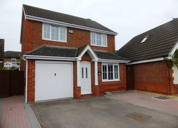 Thumbnail 3 bedroom detached house for sale in Ferndale, Yaxley, Peterborough