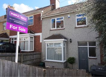 Thumbnail 3 bed terraced house for sale in Brendon Road, Windmill Hill