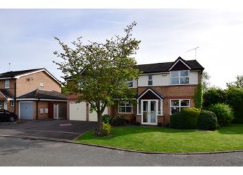Thumbnail 5 bed detached house for sale in Oakhurst Drive, Crewe