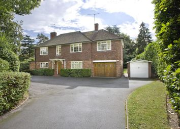 Thumbnail 4 bed detached house to rent in Wentworth, Virginia Water, Surrey