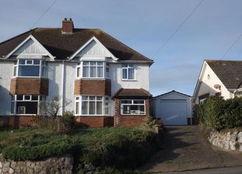 Thumbnail 3 bed semi-detached house for sale in Exmouth, Devon, .