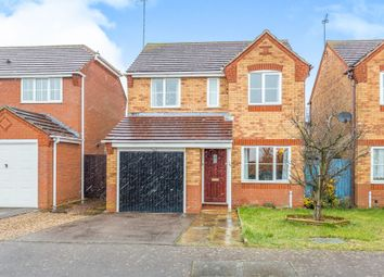 Thumbnail 3 bed detached house for sale in Garston Road, Great Oakley, Corby