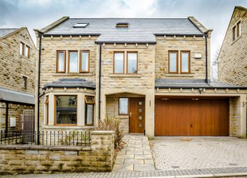Thumbnail 5 bed detached house for sale in Villa Gardens, Halifax