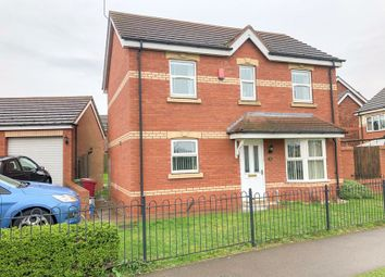 Thumbnail 4 bed detached house for sale in Birch Drive, Scunthorpe