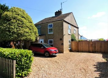 Thumbnail 3 bed detached house for sale in The Causeway, Stow Bridge, King's Lynn