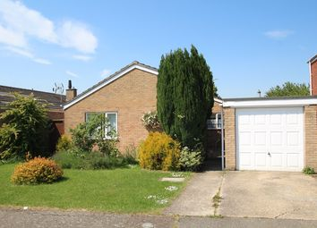 Thumbnail 3 bed detached bungalow for sale in Knights Close, Old Newton, Stowmarket