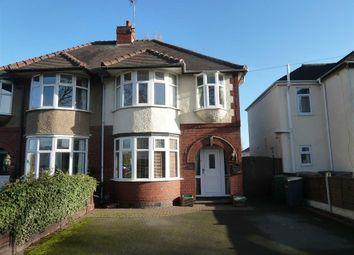 Thumbnail 3 bed semi-detached house for sale in Weddington Road, Weddington, Nuneaton