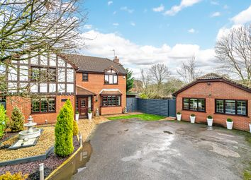 Thumbnail 5 bed detached house for sale in Edward Gardens, Woolston, Warrington