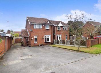 Thumbnail 3 bed detached house for sale in Fernhurst Grove, Lightwood, Longton, Stoke-On-Trent