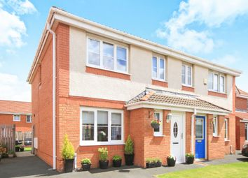 Thumbnail 3 bed semi-detached house for sale in Dalziel Crescent, Cambuslang, Glasgow