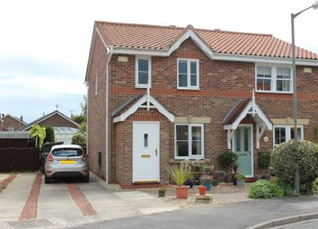 Thumbnail 2 bedroom semi-detached house for sale in The Meadows, Riccall, York