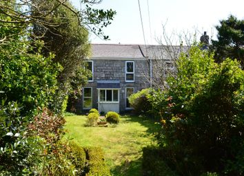 Thumbnail 3 bedroom terraced house for sale in Portherras Terrace, Pendeen, Penzance