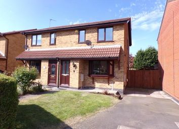 Thumbnail 3 bed semi-detached house for sale in Willow Walk, Syston, Leicester, Leicestershire
