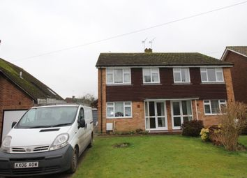 Thumbnail 3 bed semi-detached house to rent in Canterbury Road, Kennington, Ashford