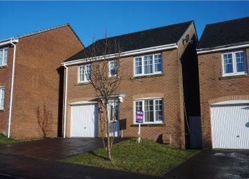 Thumbnail 4 bed detached house for sale in Glyn Garfield Close, Neath