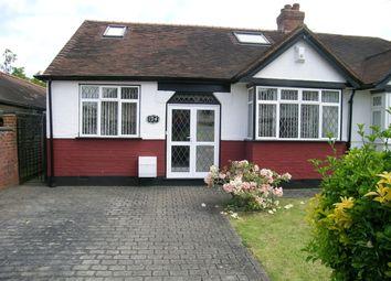 Thumbnail 4 bed semi-detached bungalow for sale in Tudor Avenue, Worcester Park
