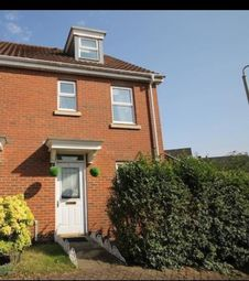 Thumbnail 3 bedroom town house to rent in Caddow Road, Norwich
