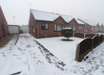 Thumbnail 2 bed semi-detached bungalow for sale in Pingle Close, Gainsborough