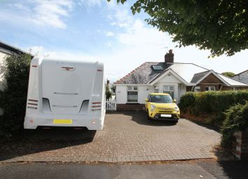Thumbnail 3 bed semi-detached bungalow for sale in Tynewydd Road, Barry