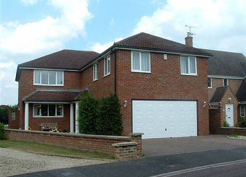 Thumbnail 5 bed detached house to rent in Friars Close, Shrivenham, Swindon