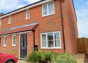Thumbnail 3 bed semi-detached house for sale in Lightning Grove, Hucknall, Nottingham